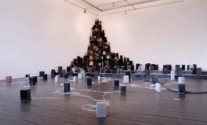 Installation for 300 speakers